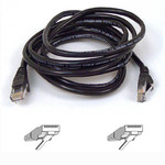 Belkin U/FTP (STP) Cat.6 Cable 10m Μαύρο (A3L980B10MBK-HS)