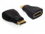 DeLock mini HDMI male - HDMI female (65244)