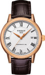 Tissot Classic Carson Automatic Brown Leather Strap T085.407.36.013.00