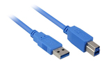 Sharkoon USB 3.0 Cable USB-A male - USB-B male 5m (4044951010868)