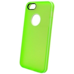 NortonLine Inos TPU Clear Flat Green White (iPhone 5/5s/SE)