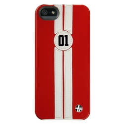Trexta Retro Racer White in Red (iPhone 5/5s/SE)