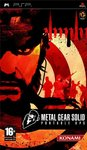 Metal Gear Solid Portable Ops PSP