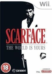 Scarface The World Is Yours WII