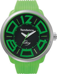 Tendence Fluo Fantasy Green Rubber Strap TG632003