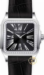 Cerruti 1881 Ladies Black Leather Strap CRR001A222A