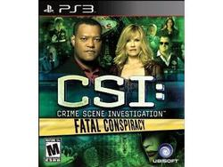 Csi 6-fatal Conspiracy PS3