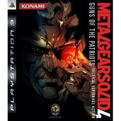 Metal Gear Solid 4 Guns Of The Patriots Platinum PS3