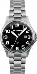 Lotto Black Stainless Steel Bracelet LM0043-02
