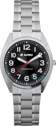 Lotto Black Stainless Steel Bracelet LM0038-02