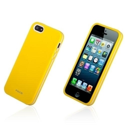 Face Fashion Series TPU Yellow (iPhone 5/5s/SE)