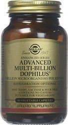 Solgar Advanced Multi Billion Dophilus Multi 60 φυτικές κάψουλες