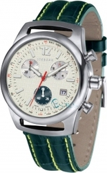 Iceberg Green Leather Chronograph IC524-31