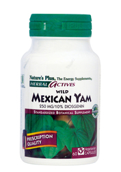 Nature's Plus Wild Mexican Yam 250mg 60 φυτικές κάψουλες