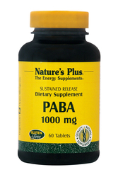 Nature's Plus Paba 1000mg 60 ταμπλέτες