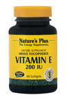 Nature's Plus Vitamin E 200 IU 90 μαλακές κάψουλες
