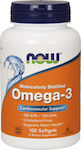 Now Foods Omega-3 100 μαλακές κάψουλες
