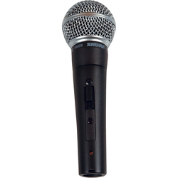 Shure SM58S (On/Off Switch Included)