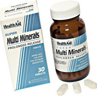 Health Aid Multimineral Super 30 ταμπλέτες