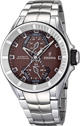 Festina Multifunction Stainless Steel Bracelet F16652/2