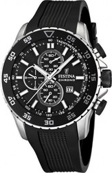 Festina Black Rubber Chronograph F16642/3