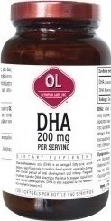 Olympian Labs DHA 200mg 30 μαλακές κάψουλες