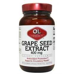 Olympian Labs Grape Seed Extract 400mg 100 tabs