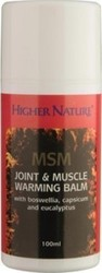 Higher Nature Msm Joint & Muscle Balm 100 ml