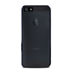 Puro Mirror Cover Black (iPhone 5/5s/SE)