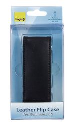 Logic3 Leather Flip Black (iPod nano 4th Gen)