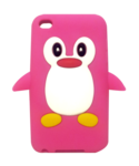 Kawaii Case Cute Penguin Pink (iPod Touch 4th Gen)
