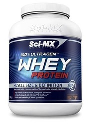 Sci-MX Whey Protein, 100% Ultragen 2280gr Chocolate