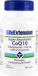 Life Extension Super-Absorbable CoQ10 with d-Limonene 50mg 60 μαλακές κάψουλες