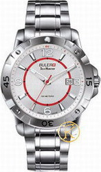 Buler Sea Hunter Silver White Dial Bracelet 046121
