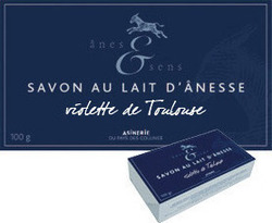 Anes & Sens Soap with Toulouse Violet 100gr