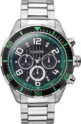Breeze Fast &Amp; Furious Green Blackchrono Stainless Steel Bracelet 610101.1