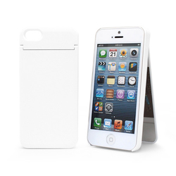 1010plus Mirror Card Cover White (iPhone 5/5s/SE)