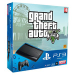 Sony Playstation 3 (PS3) Super Slim 500GB & Grand Theft Auto V
