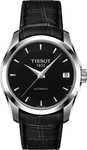 Tissot T-trend Couturier Black Leather Strap T035.207.16.051.00