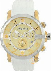 Mulco Ilusion Roll Chronograph White Watch MW3-12239-012
