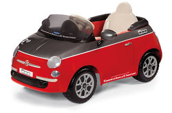 Peg Perego Fiat 500 with Remote Control