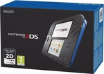 Nintendo 2DS Black and Blue