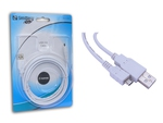 Sandberg Regular USB 2.0 to micro USB Cable Λευκό 2m (308-08)