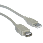 OEM USB 2.0 Cable USB-A male - USB-A female 3m