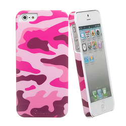 Muvit Camouflage Cover Army Pink (iPhone 5/5s/SE)