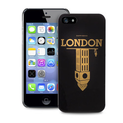 Puro City Cover London Black (iPhone 5/5s/SE)