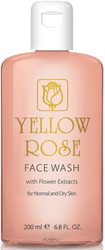 Yellow Rose Face Wash with Flower Extacts 200ml