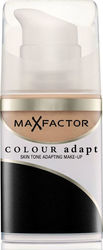 Max Factor Colour Adapt Cream Make Up 55 Blushing Beige 34ml