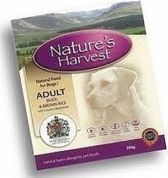 NATURE'S HARVEST ADULT DUCK AND RICE 10X395GR