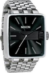 Nixon Sultan A004-1000 Black Stainless Steel Bracelet